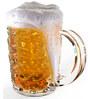 Stallion Barware Unbreakable For Long Beer Glass - 500 ML - Pack of 6