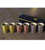Stallion Barware Unbreakable Gold-Silver-Copper Rush 65 ML Shots Glass - Set of 6