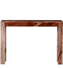 Stanwood Console Table in Warm Walnut Finish by Woodsworth