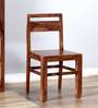 Stanwood Dining Chair in Warm Walnut Finish by Woodsworth