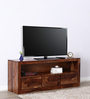 Stanwood Entertainment Unit in Warm Walnut Finish by Woodsworth