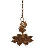 Statue Studio Bronze Brass Intricate Design Hanging Diya