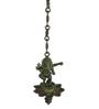 Statue Studio Green Brass Ganesha Hanging Diya