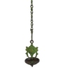 Statue Studio Green Brass Hanging Diya