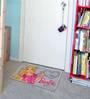Status Barbie 2Pcs Door Mat Small Large Grey Blue