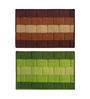 Paquito Set of 2 Door Mat in Multicolour by CasaCraft