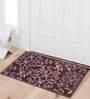 Nidia Door Mat in Brown by CasaCraft
