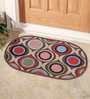 Status Purple Nylon 23 x 15 Inch Door Mat