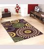 Melesio Area Rug in Brown by CasaCraft