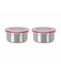 Steel Lock Storage Container - Set of 2