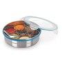 Steel Lock 1800 Ml Spice Box