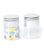 Steelo Transparent 2000 Ml Storage Container -Set of 4