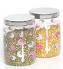 Steelo Transparent 2.4 L Storage Container - Set of 4