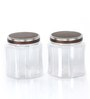 Steelo Transparent 2 L Storage Container - Set of 4