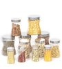 Steelo Transparent Storage Container - Set of 12