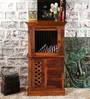 Stephens Cabinet in Honey Oak Finish by Amberville