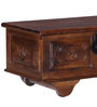 Sthagika Handcrafted Trunk in Provincial Teak Finish by Mudramark