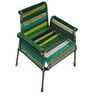 Stork Chair In Shades Of Green by Sahil Sarthak Designs
