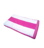 Amber Striped Pink & White Cotton Bath Towel
