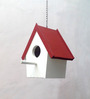 Studio Earthbox Red Birdhouse Garden Accessory