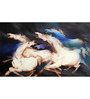 Studio3 Canvas 52 x 25 Inch 4498 Horses Unframed Painting