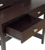 Michiko Study Table in Cappuccino Finish by Mintwud