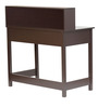 Michiko Study Table in Wenge Finish by Mintwud