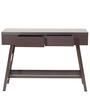 Masami Study Table in Wenge Finish by Mintwud