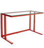 Study Desk Red by Asian Arts