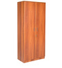 Sturdy Two Door Wardrobe in English Teak Finish by Kurl-On
