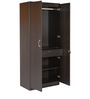 Sturdy Two Door Wardrobe in Wenge Finish by Kurl-On