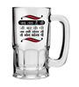 Stybuzz 600 ML Jab Tak H Jee Bhar Ke Pi Beer Mug