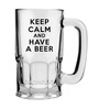 Stybuzz 600 ML Keep Calm And Have A Beer Mug