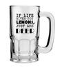 Stybuzz 600 ML Lemon'S Just Add Beer Mug