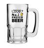 Stybuzz 600 ML Love Prefer Beer Mug
