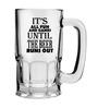 Stybuzz 600 ML The Beer Runs Out Beer Mug