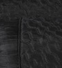 Stybuzz Black Dupion Silk 16 x 30 Inch Bolster Covers - Set of 2