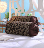 Stybuzz Brown Jute 16 x 30 Inch Bolster Covers - Set of 2