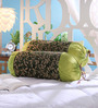 Stybuzz Green Jute 16 x 30 Inch Bolster Covers - Set of 2