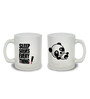Stybuzz Solves Everything Frosted Glass 300 ML Mugs