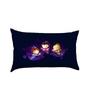 Stybuzz Three Little Fairies Multicolour Poly Silk Baby Pillow