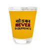 Stybuzz Vodka Never Dissapoint 60 ML Vodka Shot Glass