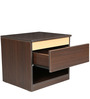 Stylo Night Stand in Wenge Colour by HomeTown