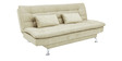Supersoft Sofa Bed in Creame Finish by Furny