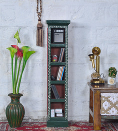 Praphulla Wood Painted Display Rack by Mudramark