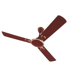 Surya Vortex Brown Ceiling Fan - 1200 mm