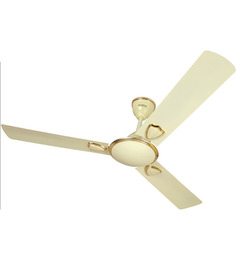 Surya Vortex Ivory Ceiling Fan - 1200 mm