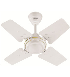 Surya Sparrow White Ceiling Fan - 600 mm