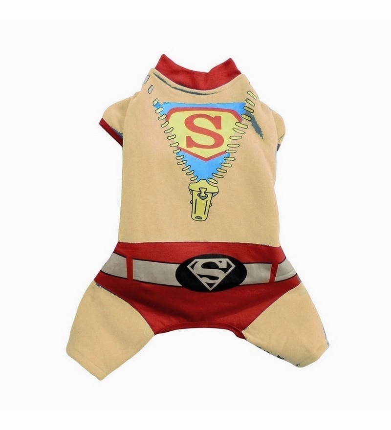 superman clothes for dogs medium by marshalls