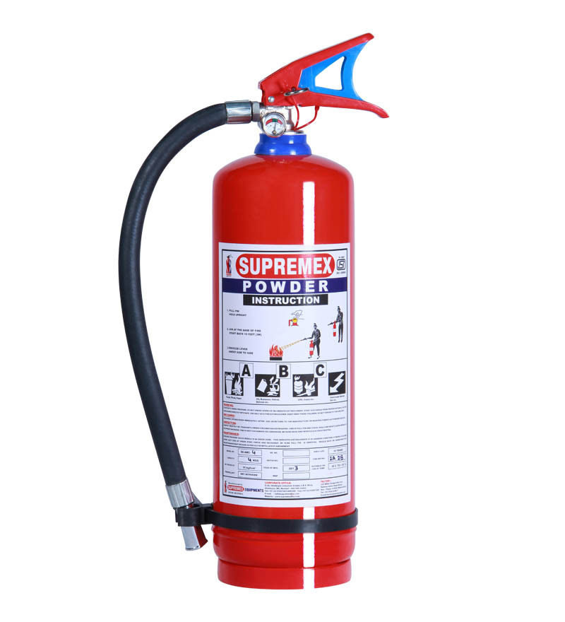 buy supremex steel abc type fire extinguisher online fire extinguishers home safety pepperfry. Black Bedroom Furniture Sets. Home Design Ideas